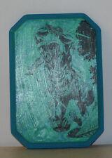 Custom Wood Transfer Plaque GI Joe Snake Eyes 9.5 x 6.5