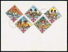 Mayfairstamps Burundi 1967 Boy Scouts Combo Bandaging Hand Cover wwg_02817