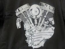 "PANHEAD MOTOR T-SHIRT ""NEW"" 4865PAN"