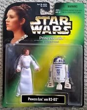 Vintage Star Wars Princess Leia Collection LEIA & R2-D2 Kenner 1997 66936 SEALED