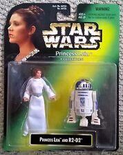 Vintage Star Wars Princesa Leia Colección & r2-d2 KENNER 1997 66936 precintado