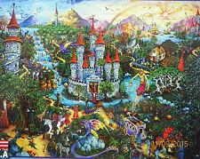 PUZZLE ....JIGSAW.....FISCHEL...FANTASY...Magic Kingdom.......500piece....Sealed