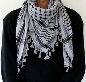 ORIGINAL Hirbawi Palestine Keffiyeh Shemagh Arab Scarf Cotton - Hatta 2020 sale