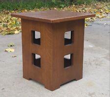 Limbert L & JG Stickley Style  Mission Oak Arts & Crafts Tabouret Table Nice
