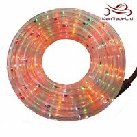 6m Christmas LED Lights Rope Multi-colour Tree Decoration Indoor Outdoor Party