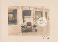 STAR & CAR Car MISTINGUETT Voiture CHRYSLER Music-Hall UTUDJIAN Photo 1930S #41