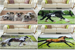 Large Animal Rugs Soft Living Room Bedroom Carpets Runner Small Floor Door Mat