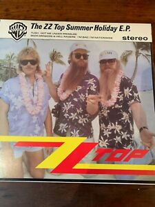 "Z Z TOP.   ""SUMMER HOLIDAY EP"".   AUST. 12""  EP"