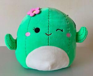 "BNWT Maritza the Green Cactus Girl Cacti  Squishmallow Soft Toy 8"""
