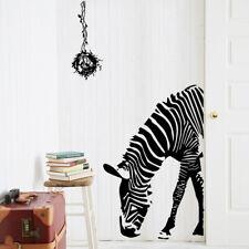 Elegance Zebra Wall sticker Home/Bookstore/Coffee Shop/Business Decor DIY