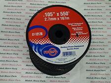 12176 (Case of 9) BLACK VORTEX LINE TRIMMER LINE .105 x 550' MEDIUM SPOOLS