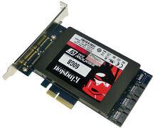 "x4 PCIe to 2.5"" SATA 3.0 +SATAIII RAID Card HyperDuo SATA port multiplier 88SE92"