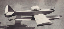 The Islander Vintage Sport Amphibious Seaplane Plans,Templates,Instructions 47ws