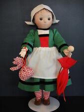 Poupée BECASSINE en porcelaine - 34cm- Nurse de LOULOTTE® - G.Bravot (BEC21)