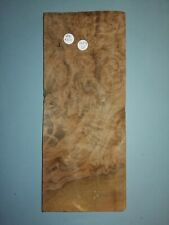 CONSECUTIVE SHEETS OF QUILTED MAPLE  VENEER 24 X 32 CM QM#1 MARQUETRY