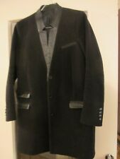 Manteau Laine10 Cachemire Kooples Superbe Cuir The 90 Finitions T38 En APnxIfT