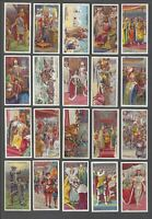 1911 Wills's Cigarettes The Coronation Series Tobacco Cards Complete Set of 50