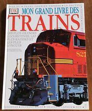 Mon grand livre des trains  DK