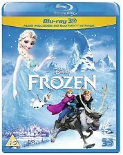 Frozen 3D (Blu-ray 3D + 2D Blu-ray:) [Region Free] Genuine UK Disney Release