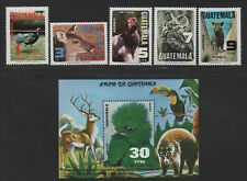 $Guatemala Sc#c675-680 M/NH/VF, complete set, animals, Cv. $40