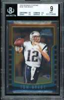 Tom Brady Rookie Card 2000 Bowman Chrome #236 BGS 9 (8.5 9.5 9.5 9)