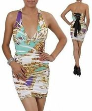 Halter Stretch Dresses for Women