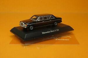 BOS 87680 Mercedes V123 Limousine schwarz (1977) 1:87