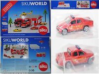Siku 5502 Themenpackung Feuerwehr für SIKU WORLD, 1:55, 1:50, OVP