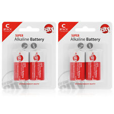 Circuit City C-Cell Enhanced Performance Alkaline Batteries  (4 Pack)