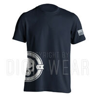 United We Stand v2 Military Tactical Skull Punisher T-Shirt American Legend S-3X