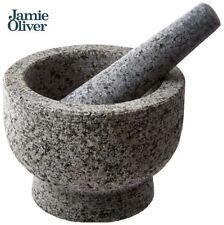 JAMIE OLIVER Mortar and Pestle, Unpolished Granite, 6 Inch