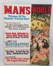 Vintage Mans Worlds February 1969 Adult Magazine Pulps