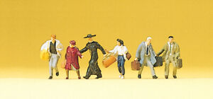 Preiser 75012 Tt Gauge Figurines - Continuous Travelers # New Original Packaging