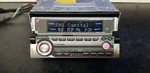 KENWOOD KDC-W7027 FACE OFF FP-MASK CD & MP3 PLAYER,TWIN FACE DESIGN SYSTEM,50Wx4