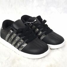 K Swiss Court Impact Junior Classic Casual Leather Court Tennis Shoes Trainers W
