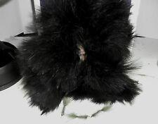 marabou blood quills 1/4 ounce black