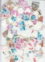 Belgien Briefmarken über 25 Gramm Einzelmarken