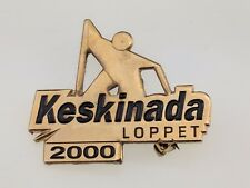 Gatineau Loppet Keskinada Lapel Pin 2000 cross-country marathon Worldloppet Ski