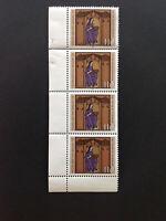 BRD 1979 4er-Streifen Rand LU, 800. Todestag von Hildegard von Bingen, Mi 1018