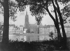 Photo. ca 1910. Frankfurt Am Main, Germany. The Cathedral
