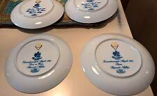 5 Piatti di Natale Tirschen Reuth e Royal Fettau vari anni lotto 5