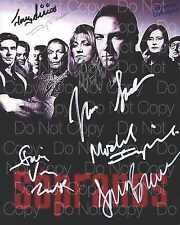 The Sopranos signed JAMES GANDOLFINI 8X10 photo picture poster autograph RP