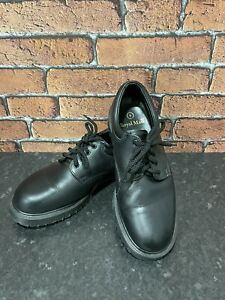 Dr Martens Royal Mail Smooth Black Leather Shoes Made In England | 9 UK Regular