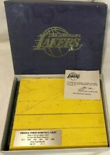 Los Angeles Lakers Authentic Original Piece of Court Floor LA Forum 1967-91 NBA