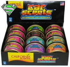 CALIFORNIA SCENTS 12 PIECE ASSORTMENT CAR SCENT SMELLY