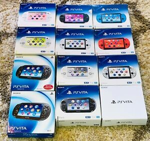 Sony Playstation PSV PS Vita 1000 2000 Slim Fat OLED Console In Box *CHOOSE*