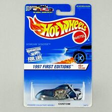 Hot Wheels Code 3 Custom Scorchin' Scooter on Resealed 1997 First Editions Card