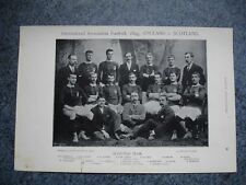 RARE Original Famous Footballers, #015 Scottish Football Team 1895 - 96