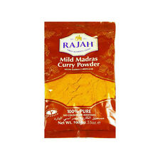 100g MADRAS CURRY POWDER (MILD) SPICES SEASONINGS