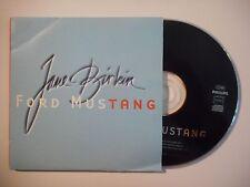 JANE BIRKIN : FORD MUSTANG [ CD SINGLE PORT GRATUIT ]